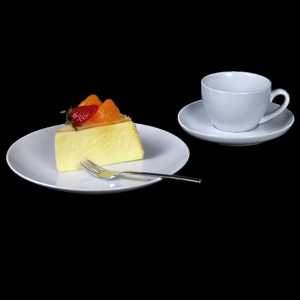 """Kaffeegedeck """"MA Classico"""" 3-tlg. rund"""