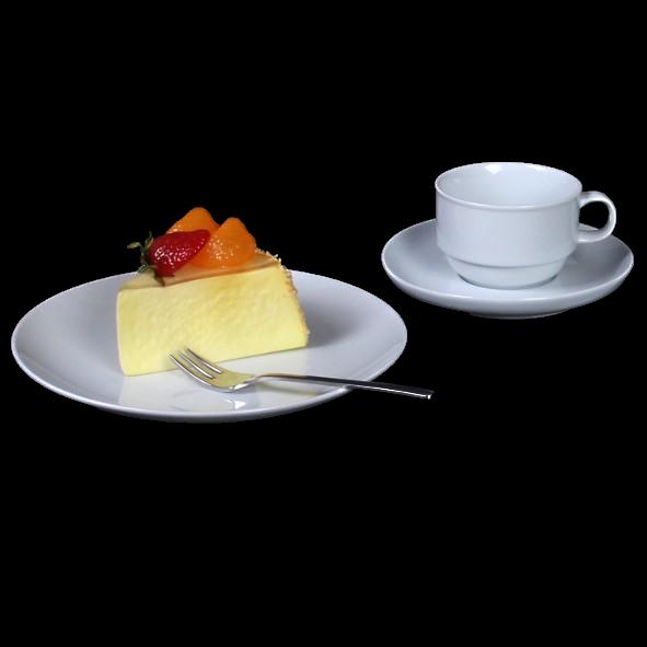 """Kaffeegedeck """"MA Hotel"""" 3-tlg. rund"""