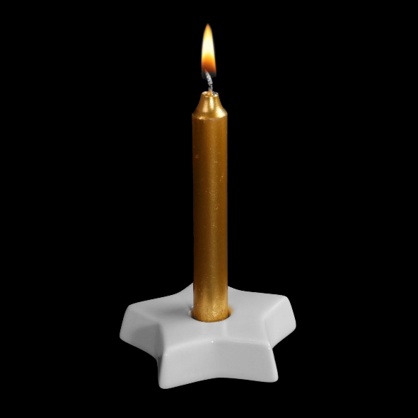 "Kerzenleuchter ""Stern"" (**)"