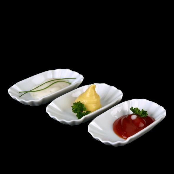 """Pommesschale  9 cm Pappoptik """"Snack Line"""""""
