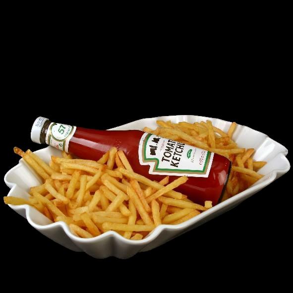 """Pommesschale 36 cm Pappoptik""""Snack Line"""""""