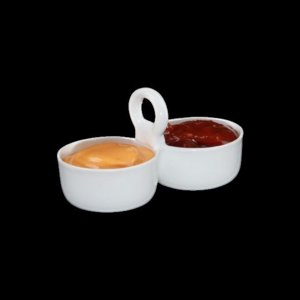 Duo Schale 11 cm mit Henkel