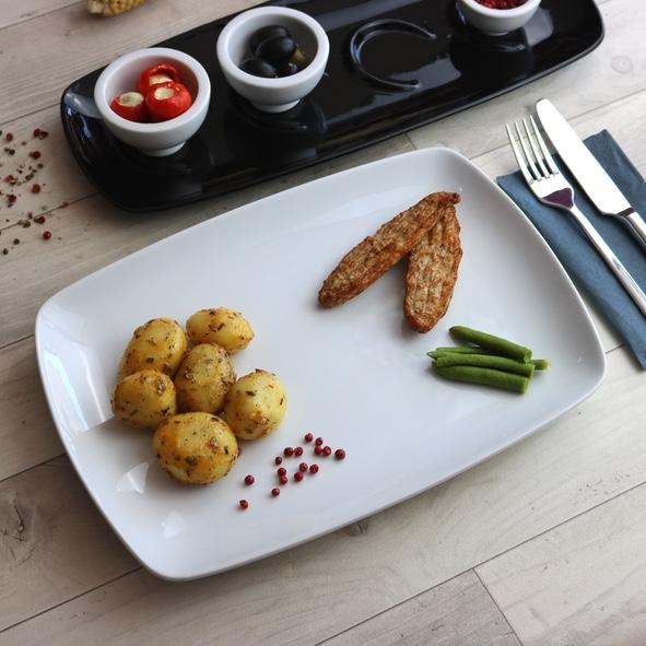 """Speisenplatte 31 x 22 cm """"Fine Dining"""""""