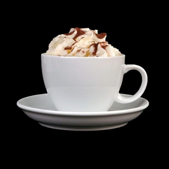 """Milchkaffeetasse 0,39 l """"Palermo"""" auf Untere UTP"""