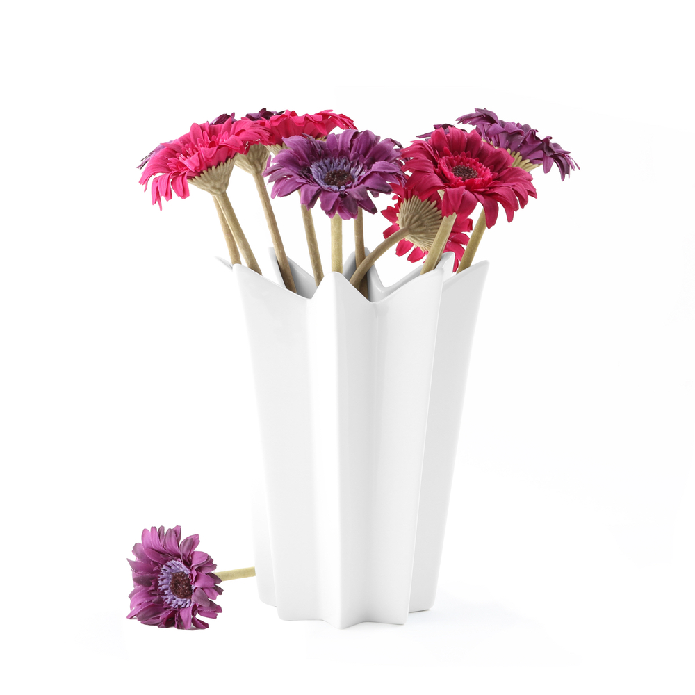 Star shaped vase 20 cm