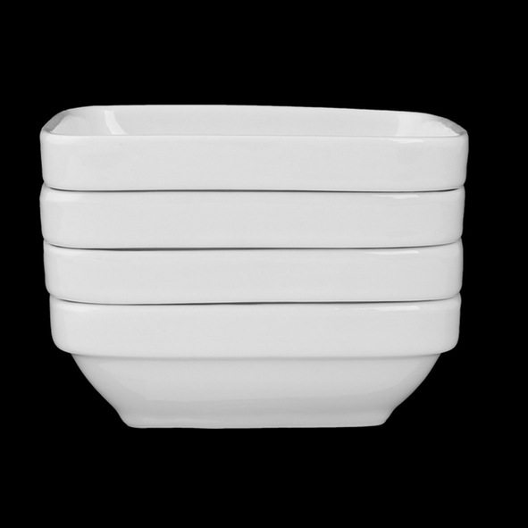 Square dish 11,0 x 11,0 cm, stackable