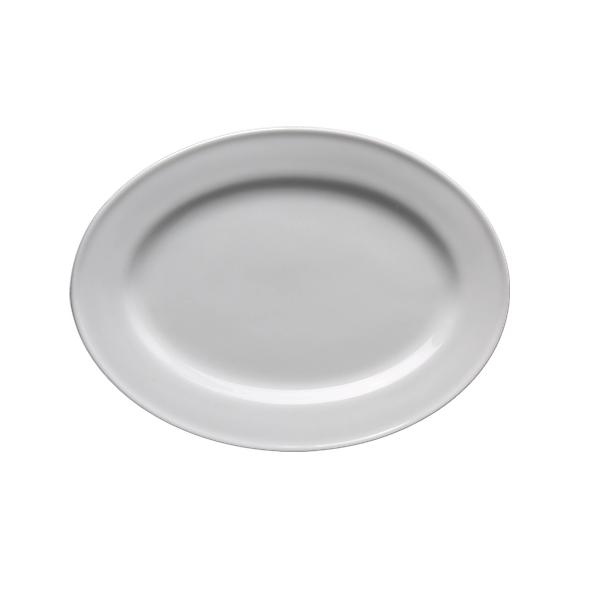 "Platte oval 25 x 18 cm ""Stabrand"" (**)"