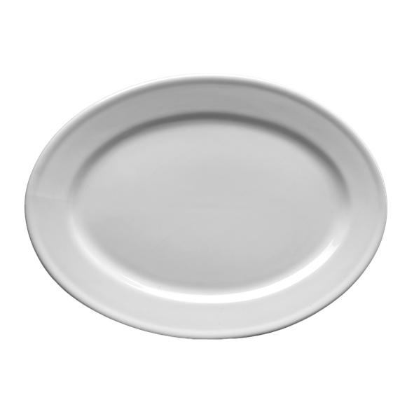 "Platte oval 35 x 26 cm ""Stabrand"" (**)"