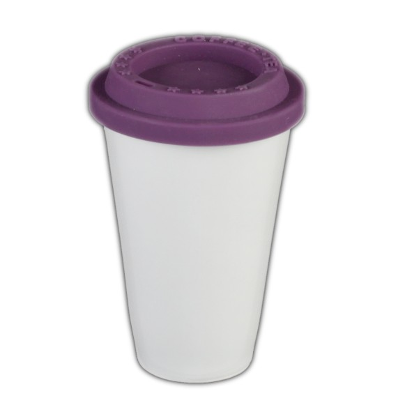 """Doppelwandbecher 0,25 l """"Coffee to Go Old"""" (**)"""