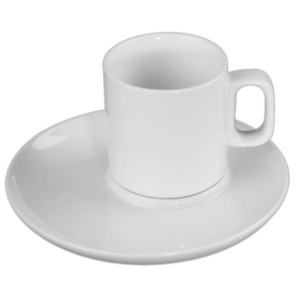 """Kaffeebecher 0,22 l """"Blockhenkel"""" auf Untere UTM"""