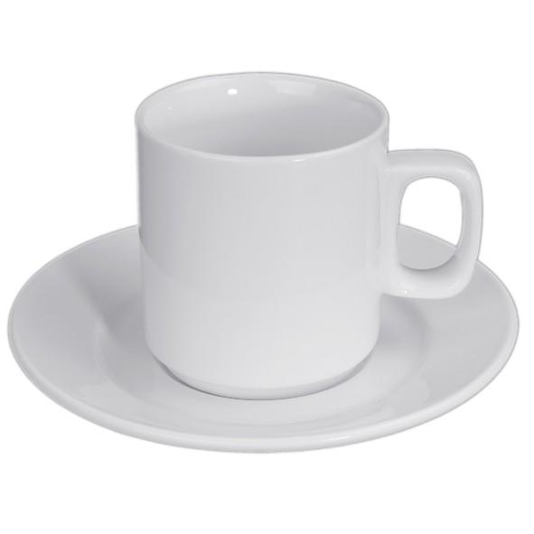 """Kaffeebecher 0,22 l """"Blockhenkel"""" auf Untere UTV"""
