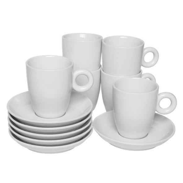 """Vorteilspack 6er Set Kaffeetasse """"Rondo"""" (**)"""