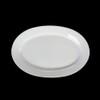 "Platte oval 28 x 18 cm ""Albergo"" halbtief"