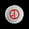 Nichtraucher-Schild in Aschenbecherform