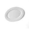 "Platte oval 20 x 15 cm ""Vital Level"" flach"