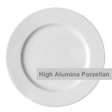 High Alumina Porzellanteller Form Harmony