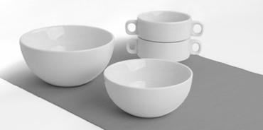 Viele verschiedene Schalen und Bowls aus Porzellan!