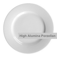 High Alumina Porzellanteller Form Vital Level