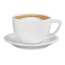 Milchkaffee Untertassen