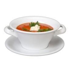 Suppen Untertassen