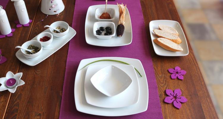 Serie Fine Dining von Holst Porzellan