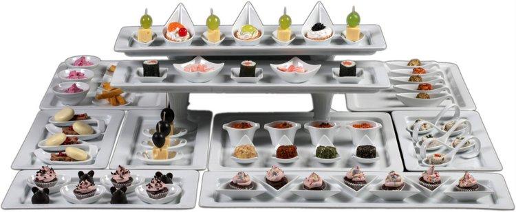 Die komplette Kollektion Fingerfood-Geschirr & Appetizer kaufen!
