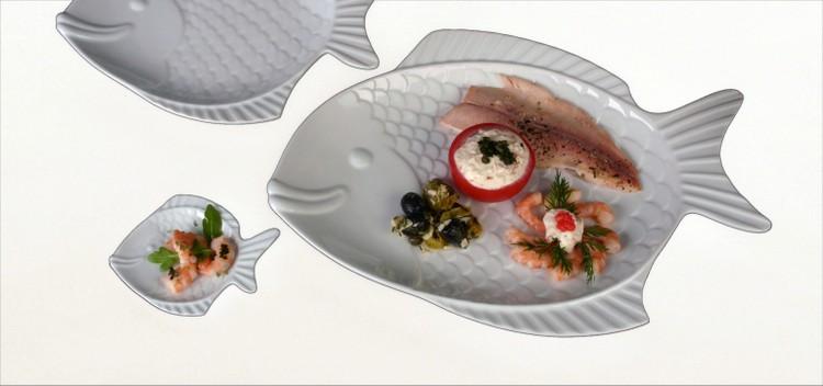 Porzellanteller Form Fisch Nemo kompetent & günstig kaufen!