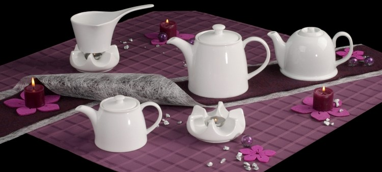 Porzellankannen, Kaffeekannen und Teekannen günstig kaufen!