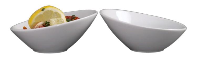 Schräge Porzellanschalen Form Vexus kompetent & günstig kaufen!