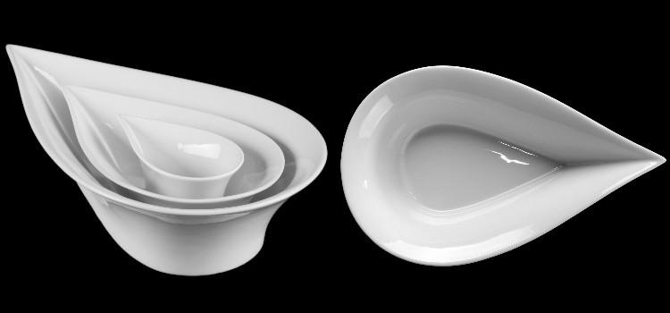 Porzellanschalen Form Teardrops Slim kompetent & günstig kaufen!