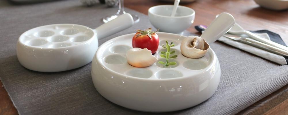 Porzellan Schneckenpfannen kompetent & günstig kaufen!