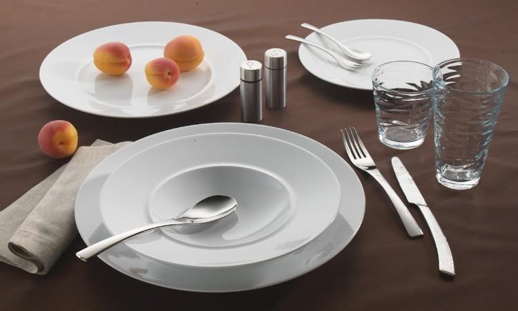 Porzellanteller Form Style von Holst Porzellan