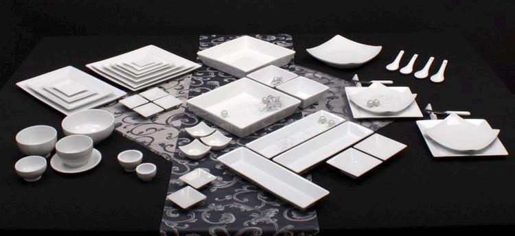 Porzellan Rechteckplatten Form YoYo Shanghai online kaufen!