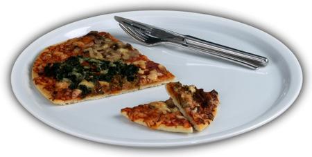 Porzellan Pizzateller von Holst Porzellan