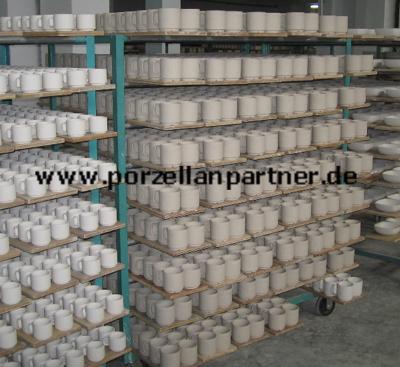 Monobrand bei der Herstellung von Porzellan