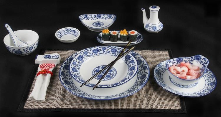 Qing Hua Ci - Weiß-blaues Porzellan von Holst Porzellan