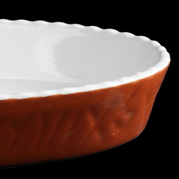"Auflauf- & Backform oval 24 x 14 cm ""Marrone"""
