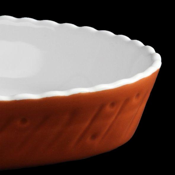 "Auflauf- & Backform oval 29 x 16 cm ""Marrone"""