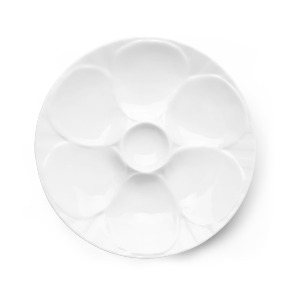 Oyster plate 23 cm