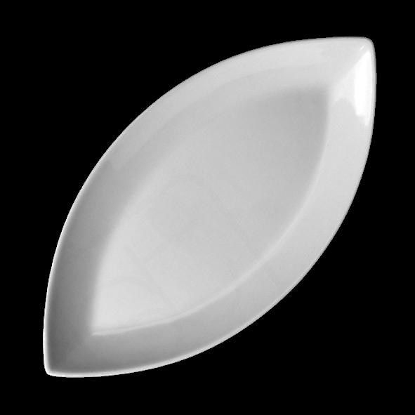 """Platte oval 40 x 20 cm Schiffchenform """"Bateau"""" - Zweite Wahl (*)"""