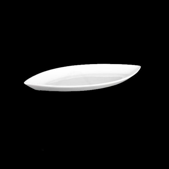 "Platte oval 25 x 12 cm Schiffchenform ""Bateau"" (**)"