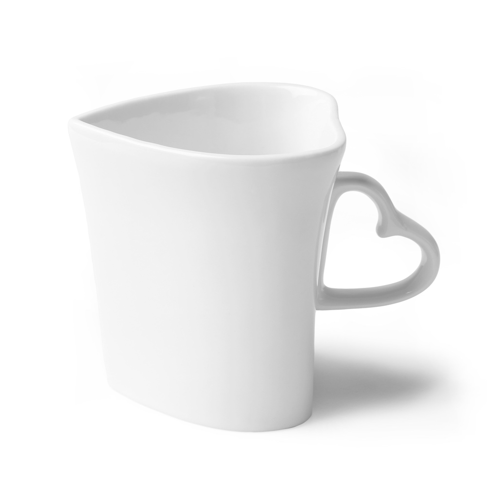Heart shaped mug 0,35 l