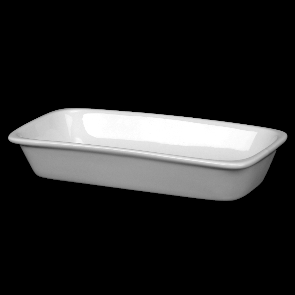 Rectangular dish 20,0 x 10,0 cm, stackable