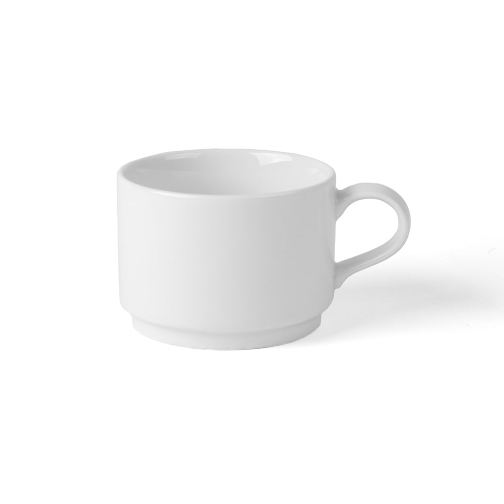 High Alumina Tee/Kaffee Tasse 0,22 l stapelbar