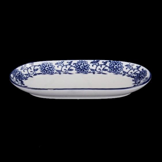 Towel Dish 16 x 9 cm ''Qing Hua Ci''
