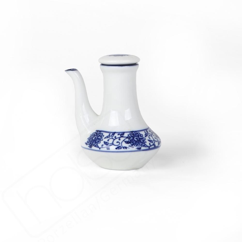 Soya Sauce Bottle 10 cm ''Qing Hua Ci''