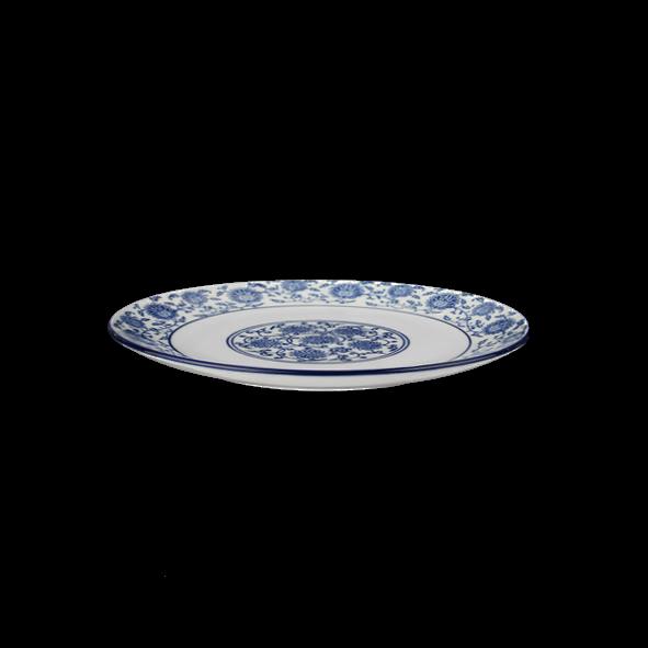 """Teller flach 18 cm """"Qing Hua Ci"""" (**)"""