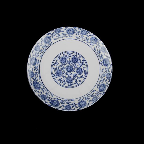 Flat plate 18 cm ''Qing Hua Ci''