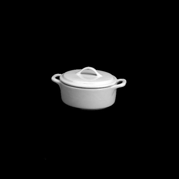 Cocotte/Kokotte/Topf mit Deckel 0,15 l