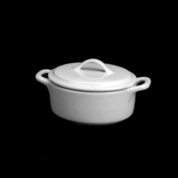 Cocotte/Kokotte/Topf mit Deckel 0,65 l